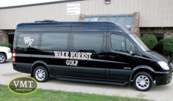 College Athletic Sprinter Van full